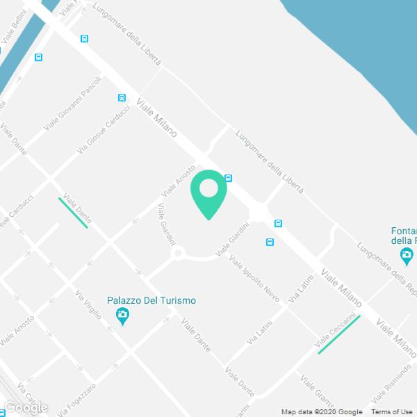 Piadineria Riccione Chiosco Giardini - Google Maps custom